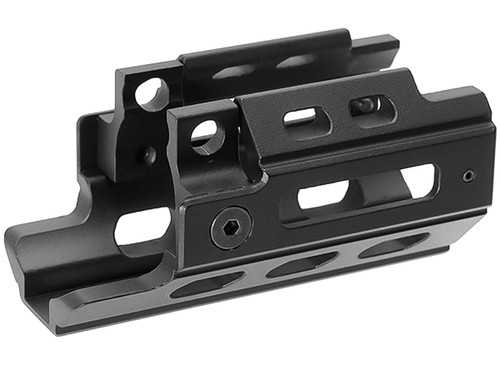 Laylax NITRO.Vo Kurz Aluminum Handguard for MP5K Series Airsoft AEG