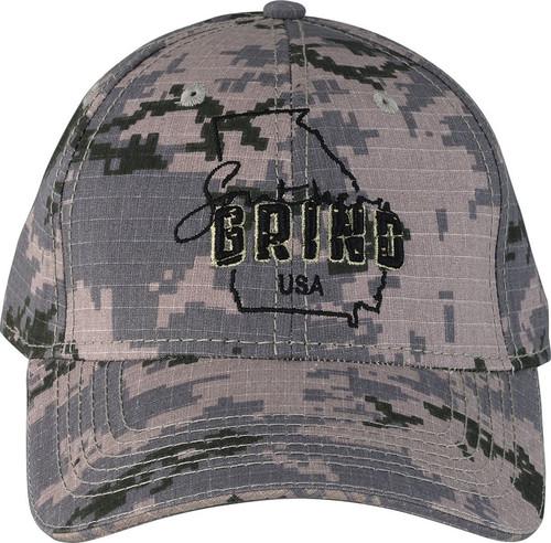 Digital Camo Georgia Logo Hat