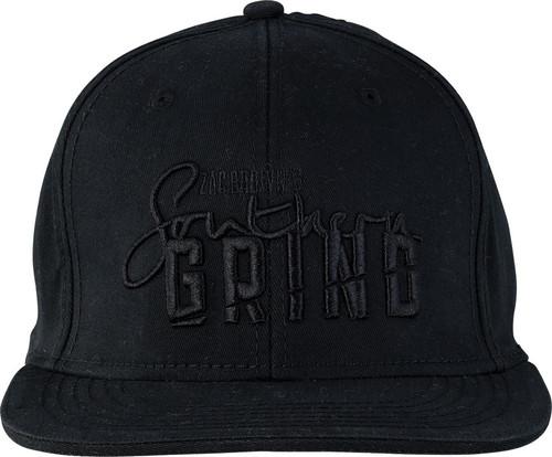 Flat Bill Logo Cap Black