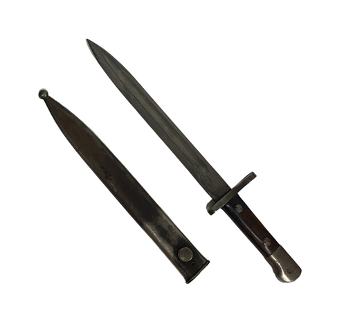 Turkish AS.FA Mauser Bayonet w/ Scabbard