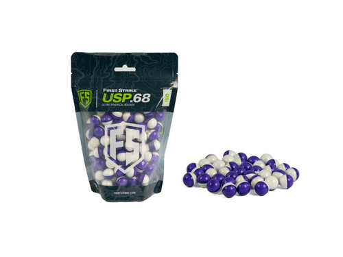 First Strike Paintballs USP 150 Rounds - Purple/White