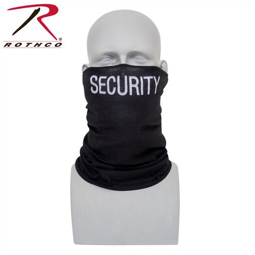 Rothco Multi-Use Tactical Wrap - Black / Security