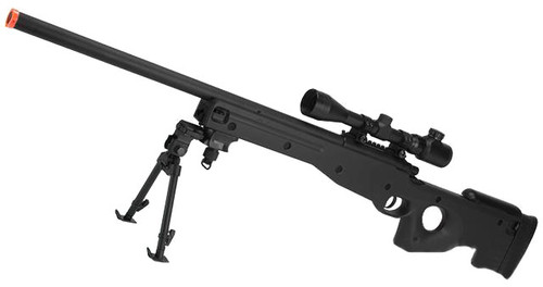 AGM Type 96 Airsoft Bolt Action Sniper Rifle (Black)