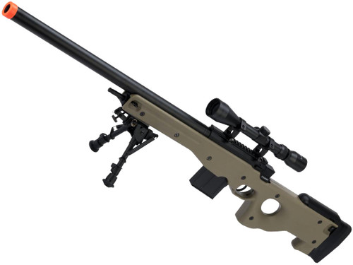 CYMA Standard L96 Bolt Action High Power Airsoft Sniper Rifle (Color: Tan)
