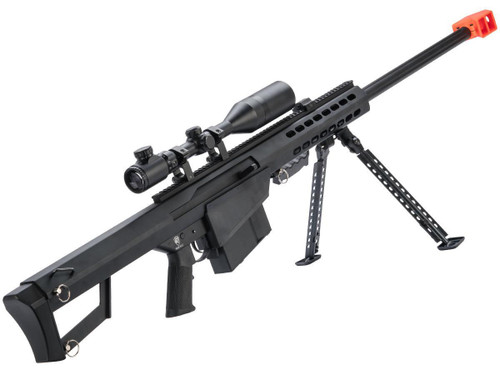 6mmProShop Barrett Licensed M82A1 Bolt Action Powered Airsoft Sniper Rifle
