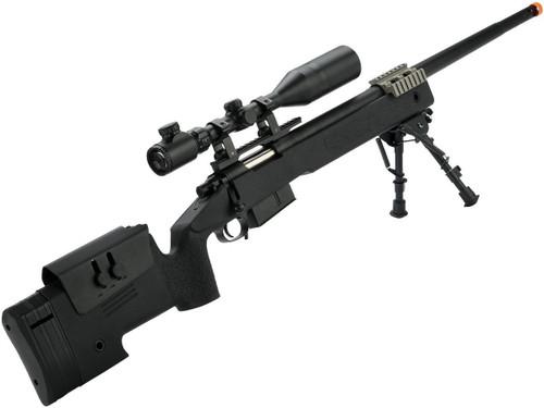 6mmProShop PDI Custom Upgraded USMC M40A5 Bolt Action Airsoft Sniper Rifle