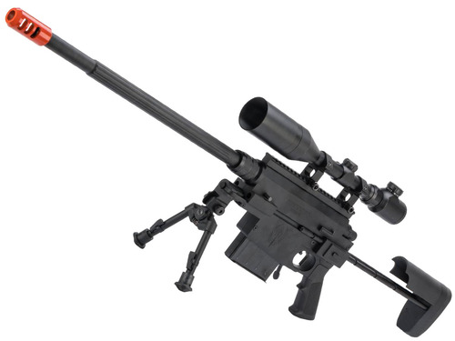 """Echo1 / Nemesis Arms """"VANQUISH"""" Take Down Bolt Action Airsoft Sniper Rifle w/ Hard Case"""