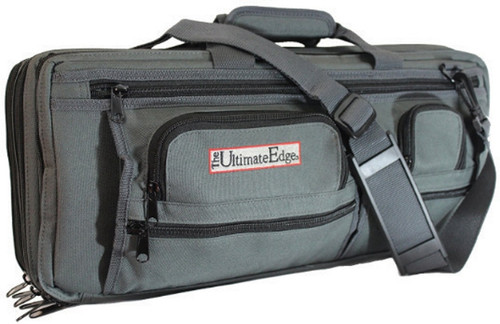 Deluxe 18 Piece Knife Bag Gray