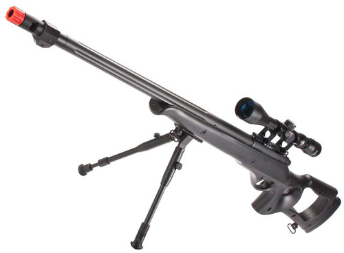 Matrix VSR10 MB09 Airsoft Bolt Action Sniper Rifle by WELL (Color: Black)