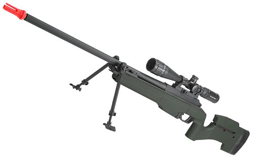 ARES Airsoft MSR-009 Gas Powered Bolt Action Sniper Rifle (Color: OD Green)
