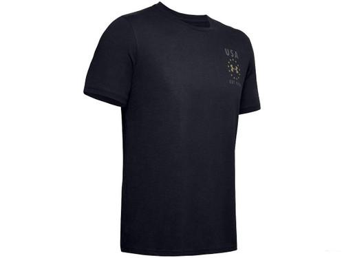 """Under Armour Men's UA Freedom """"USA Emblem"""" T-Shirt (Color: Black)"""