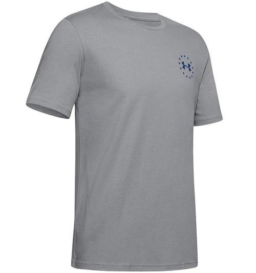 "Under Armour Men's UA Freedom ""Triumphant Victory"" T-Shirt (Color: Steel-American Blue)"