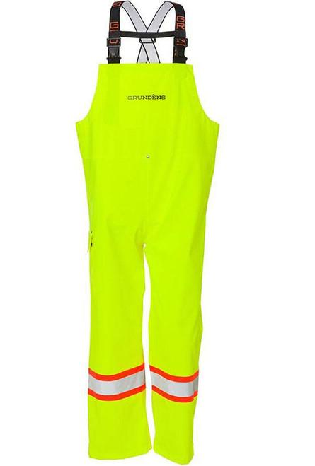 "Grundens ""Neptune"" Bib CSA Fishing Trousers (Size: Hi-Vis Yellow)"