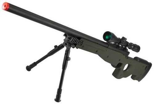 Shadow Op MB01 Type96 MK96 APS-2 Airsoft Bolt Action Sniper Rifle (Color: OD Green)