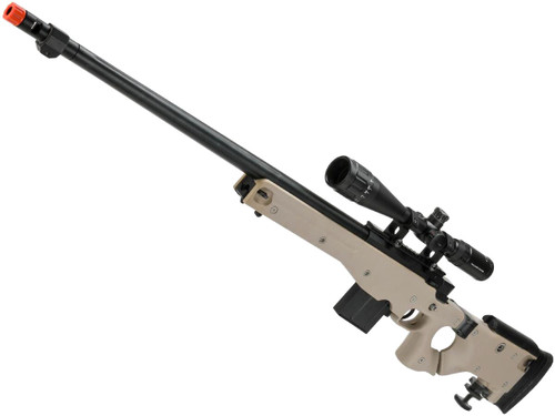 WELL L96 Bolt Action Airsoft Sniper Rifle w/ Folding Stock (Color: Tan)
