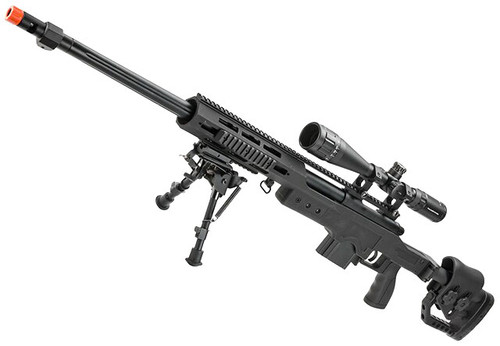 WELL MB4411D Bolt Action Airsoft Sniper Rifle (Package: Package C)