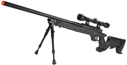 WELL MB04 APS Bolt Action Airsoft Sniper Rifle - ~490 FPS