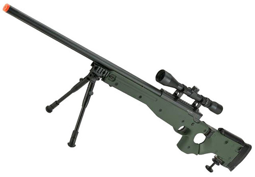 Matrix AW-338 MB08D Bolt Action Airsoft Sniper Rifle with Folding Stock by WELL (Color: OD Green)