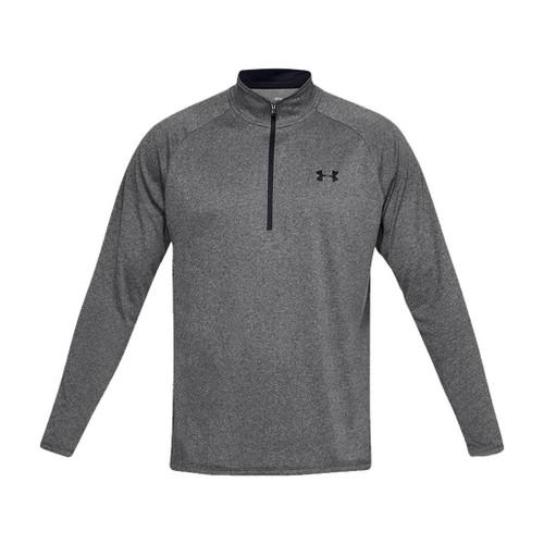 Under Armour Men's Tech 2.0 Half-Zip Long Sleeve Training Shirt (Color: Grey)