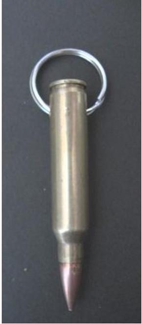 Brass Bullet Key Chain - 0.223