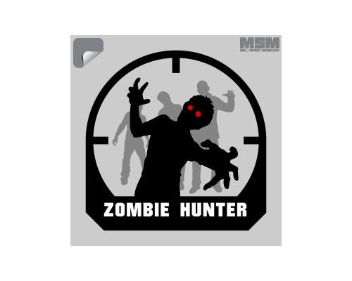 Milspec Monkey Zombie Hunter Sticker