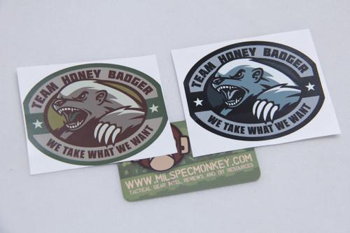 Milspec Monkey Honey Badger Sticker