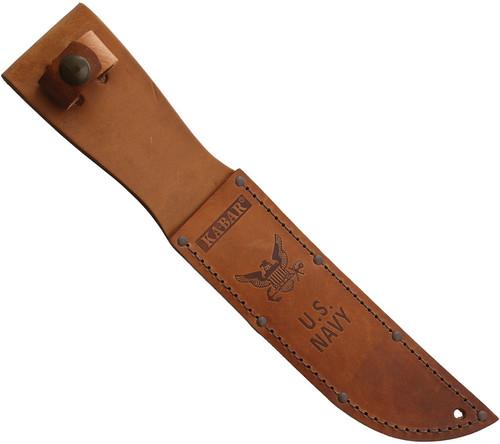 USN Fighter Leather Sheath
