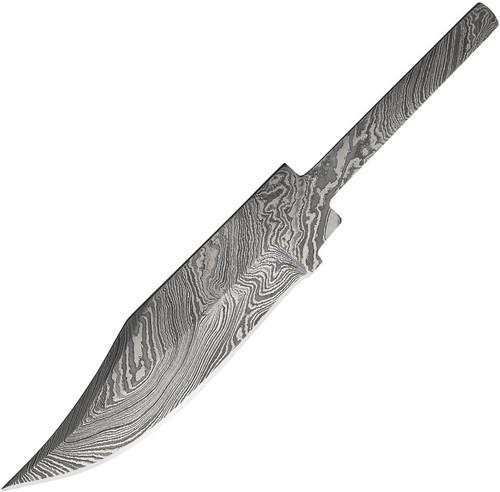 Damascus Skinner Blade