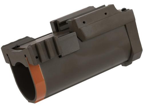 Tokyo Arms Aluminum 40mm Mini Airsoft Launcher (Color: Tan)