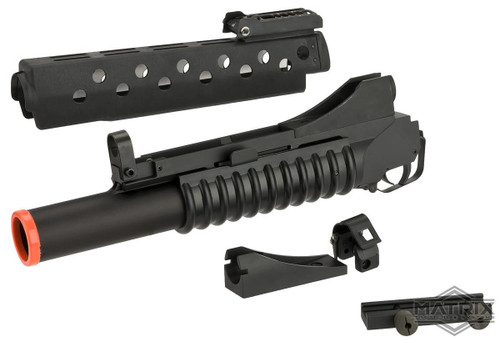 "Matrix ""SCAR FACE"" Special Edition Airsoft M203 Style Grenade Launcher with G&P M16 Handguard & Mounts"