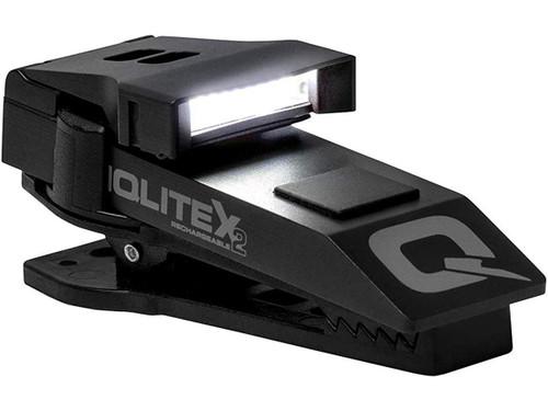 QuiqLite X2 USB Rechargeable Uniform Mount LED Light (Color: White / Red)