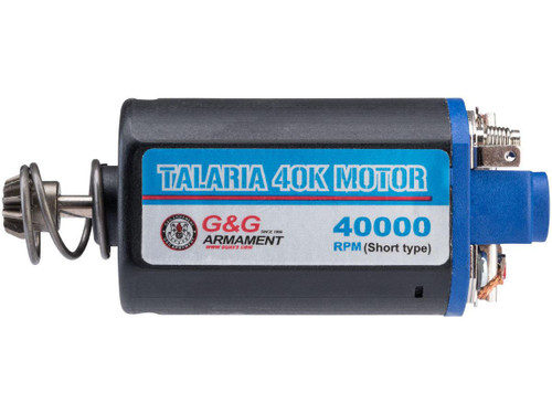 G&G Talaria Blue 40K Balance Short Type Motor for Airsoft AEG Rifles