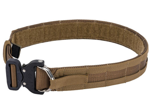 Eagle Industries Operators Gun Belt w/ MOLLE Attachment (Color: Coyote Brown)
