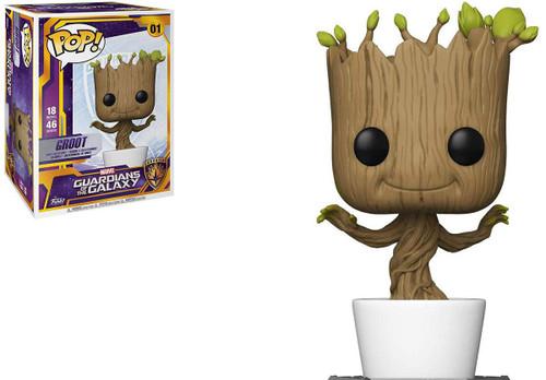 """Funko POP! Guardians of the Galaxy 18"""" Vinyl Figure (Figure: Dancing Groot)"""