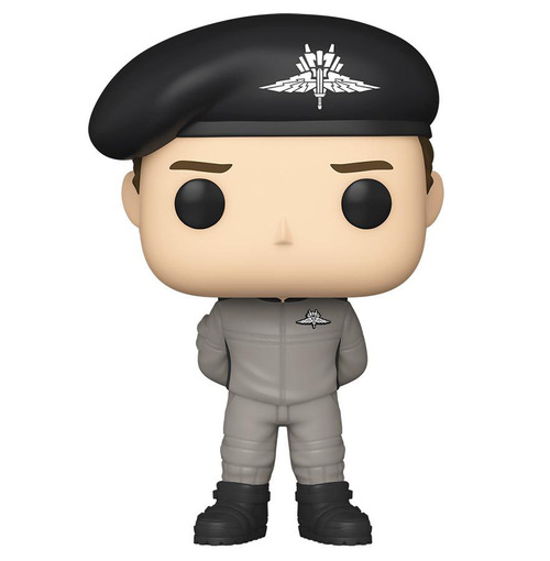 Funko POP! Movies Starship Troopers Vinyl Figure (Model: Johnny Rico In Jumpsuit)