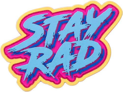"""Mil-Spec Monkey """"Stay Rad"""" PVC Morale Patch"""