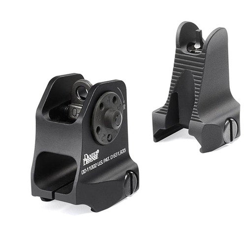 Daniel Defense AR-15 Rock & Lock Fixed Iron Sight Set