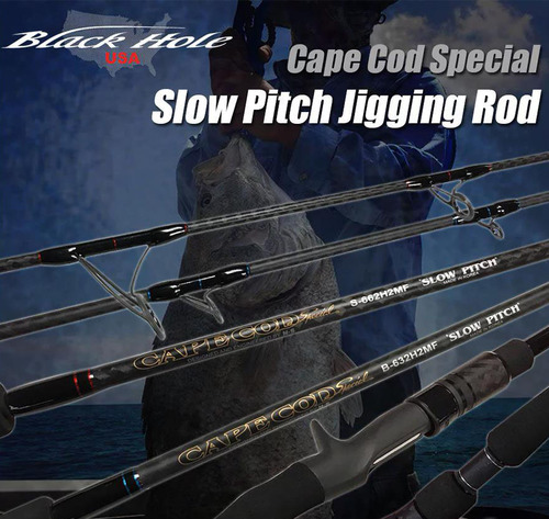 Black Hole USA Cape Cod Special Slow Pitch Jigging Rod (Model: B-662HMF)