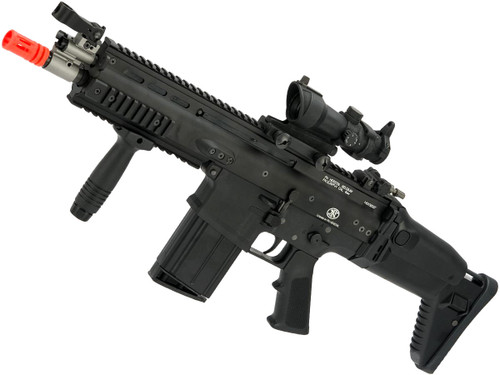 FN Herstal SCAR Licensed Gas Blowback Airsoft Rifle by WE-Tech (Model: SCAR-H / CQC)