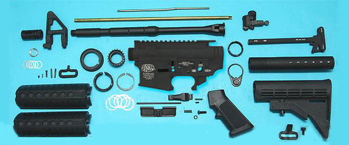G&P Full Metal M4 WOC Airsoft Gas Blowback Rifle Challenge Kit (Model: AR-15 G&P)