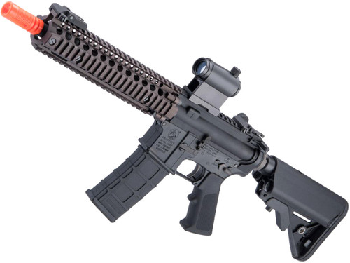 "GHK Colt Licensed M4A1 SOPMOD Block 2 Gas Blowback Airsoft Rifle by Cybergun (Length: 10.3"" Mk18 MOD.1)"