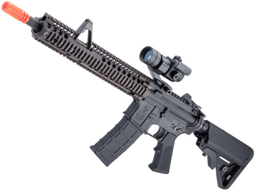 "GHK Colt Licensed M4A1 SOPMOD Block 2 Gas Blowback Airsoft Rifle by Cybergun (Length: 14.5"" FSP)"