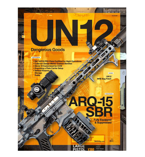UN12 Magazine with Limited Edition UN12 Morale Patch (Issue: 011)