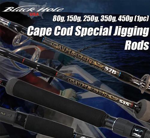 Black Hole USA Cape Cod Special One Piece Jigging Rod (Model: 250g 54B)