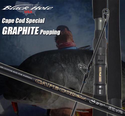 "Black Hole USA Cape Cod Special Graphite Popping Rod (Length: 8'0"")"