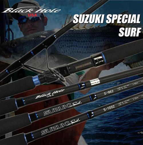 Black Hole USA Suzuki Special Surf Rod (Length: 10')