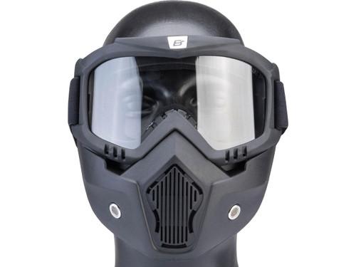 Birdz Eyewear Skylark Full Face Mask (Color: Black / Photochromic)