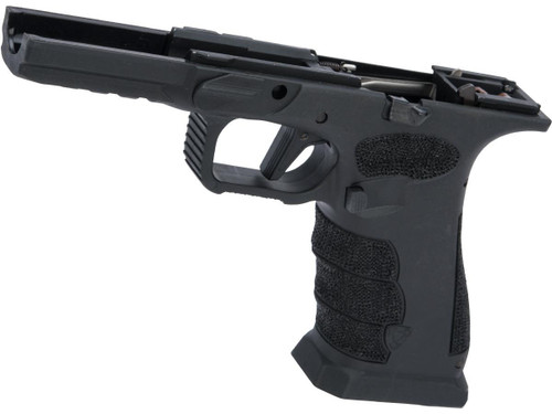 APS Complete Lower Frame with Custom Stippling for XTP Series Airsoft Pistols