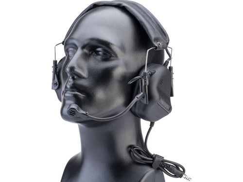 Roger-Tech Mk4 Advanced Wired and Bluetooth Electronic Communications Headset