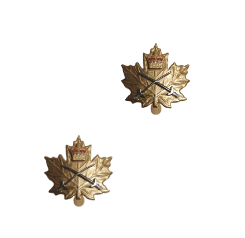 Canadian Armed Forces Cadet Army Instructor Collar Badge (Pair)
